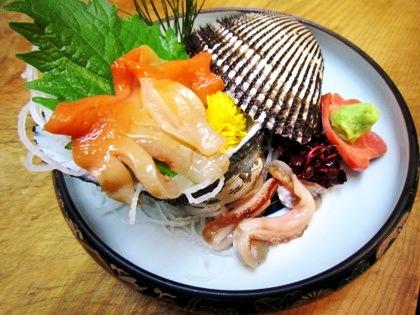 赤貝のお刺身