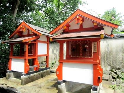 赤穂神社の祠