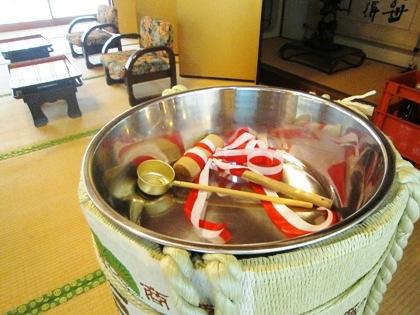酒樽 大神神社結婚式の食事