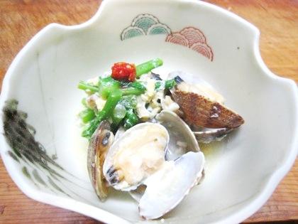 あさりの菜種煮