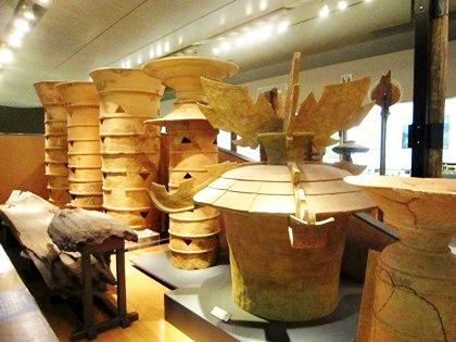 奈良県立橿原考古学研究所付属博物館の埴輪