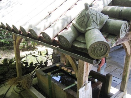 蓮の屋根瓦