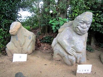 飛鳥の猿石
