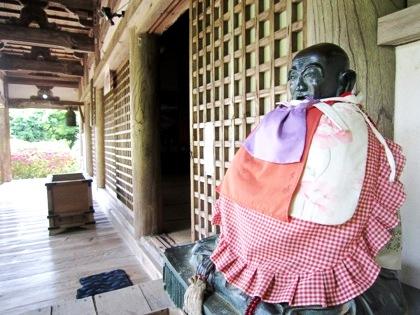 長岳寺のびんずる尊者