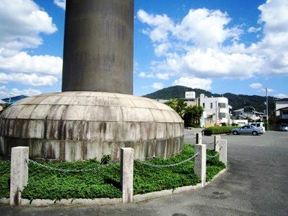 大神神社大鳥居下の駐車場