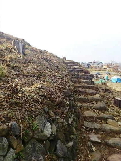茅原大墓古墳の階段