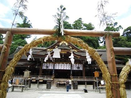 茅の輪神事 大神神社