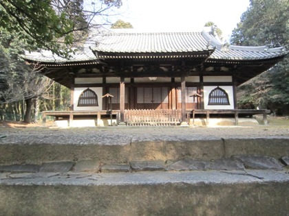 東大寺知足院の本堂