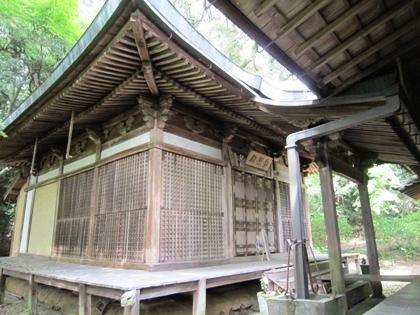 長岳寺大師堂