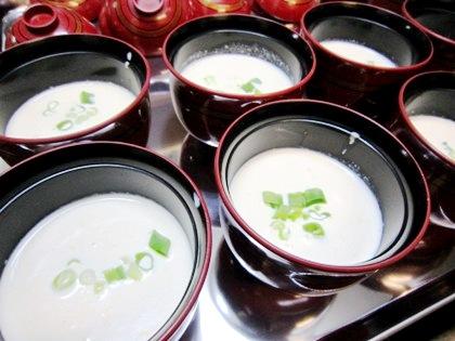 帆立とうもろこしのスープ