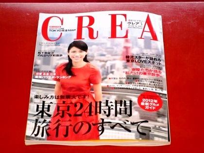雑誌クレアの表紙