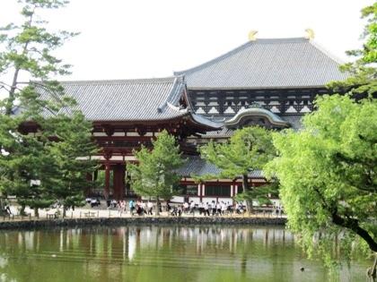 大仏殿 鏡池