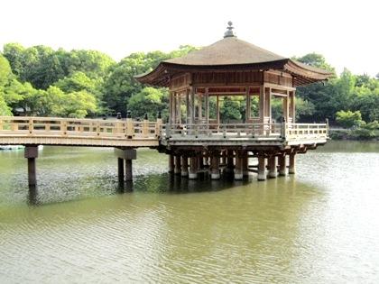 浮見堂 奈良公園