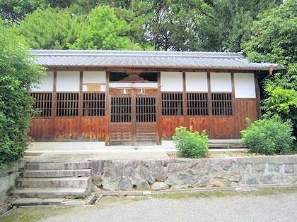 長尾神社の絵馬殿