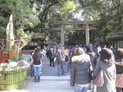 大神神社の門松