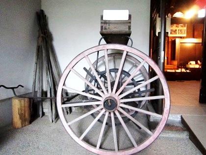 消防ホース巻取り車