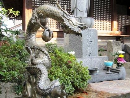 手水処の龍
