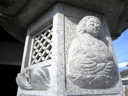 五劫院の石灯籠