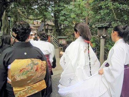 大神神社の挙式風景