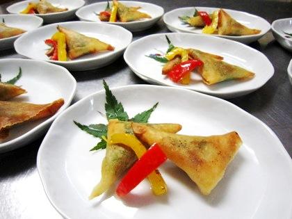 海老の梅春巻 春巻料理