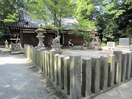 鏡作神社拝殿