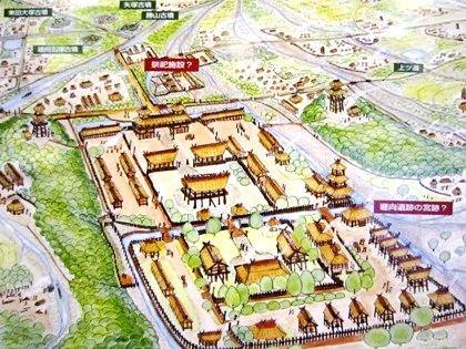 卑弥呼の宮殿跡