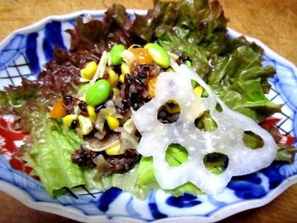 古代米サラダ