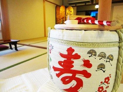 鏡開き 大神神社の結婚式