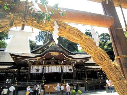 形代 大神神社の茅の輪神事