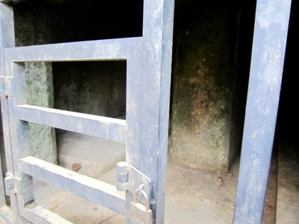 牽牛子塚古墳の石室