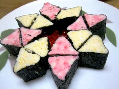 大和芋の菊寿司