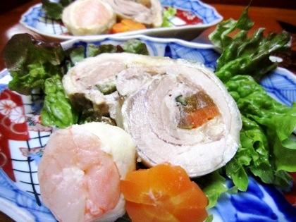 黄身寿司 大和肉鶏の香味奈良漬