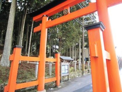 両部鳥居 墨坂神社