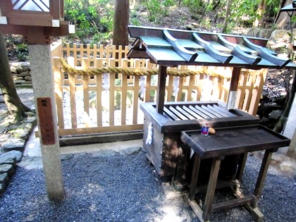 大神神社の夫婦岩 恋人の聖地