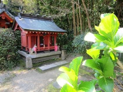 三輪山平等寺のお稲荷さん