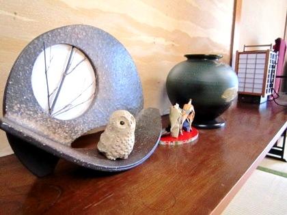 客室の置物