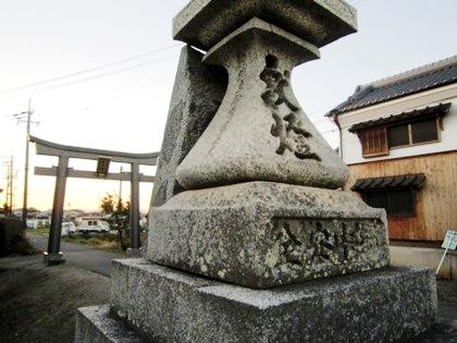 多神社一の鳥居