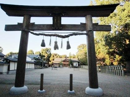多神社二の鳥居