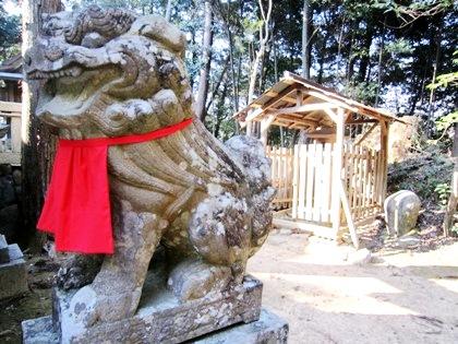 狛犬 石灯籠