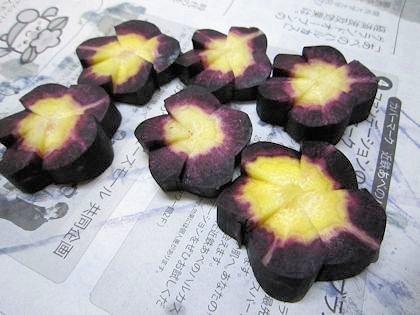 紫色の人参