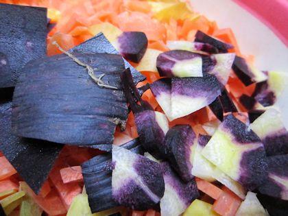 紫人参のパープルパープル