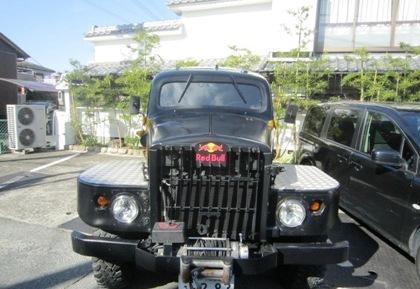 レッドブルの宣伝車