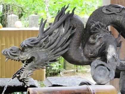 松尾寺の手水処