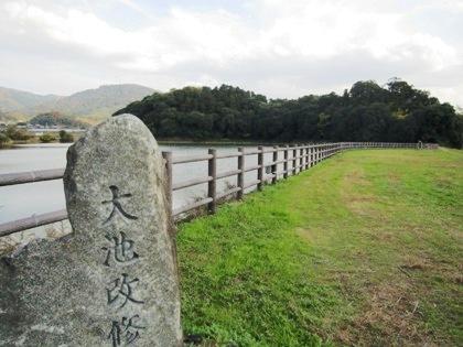 箸墓古墳と三輪山