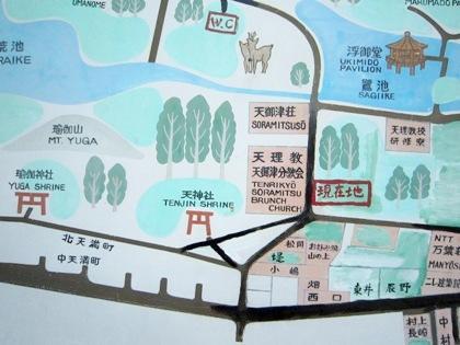 天神社の周辺地図