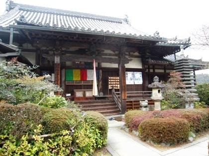 聖林寺の本堂