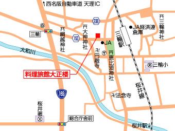 大正楼の地図