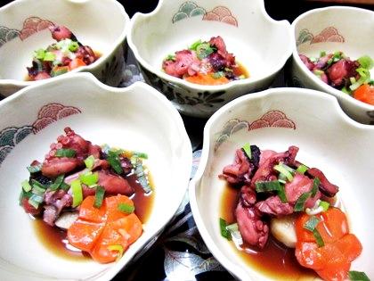 蛸と長芋の旨煮