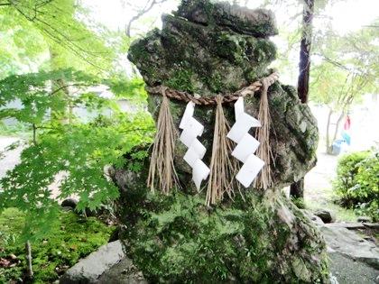 等彌神社の紙垂