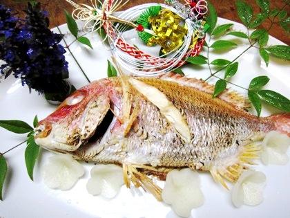焼鯛 お祝い料理